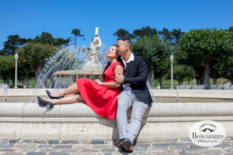 San Francisco Engagement Photo Session in Golden Gate Park.© Bowerbird Photography 2014
