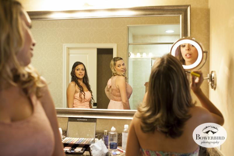 The bridesmaids get ready. © Bowerbird Photography 2014