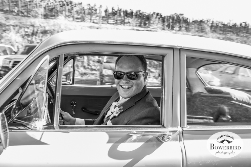 Now he's cruising. Meritage wedding in Napa Valley. © Bowerbird Photography 2014