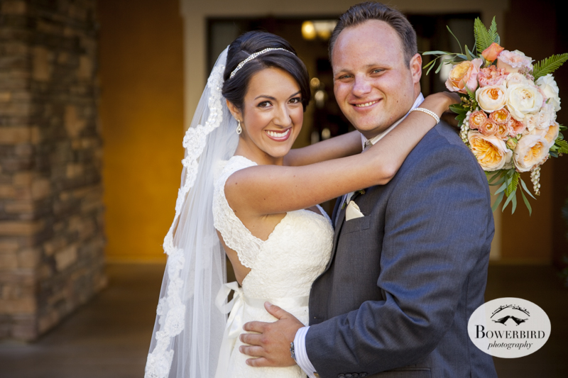 The bride and groom look woooonderful!!! Napa Valley wedding at the Meritage.© Bowerbird Photography 2014