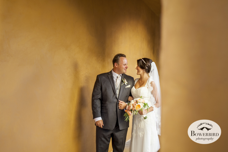 Couple's wedding photos at the Meritage Resort and Spa.© Bowerbird Photography 2014