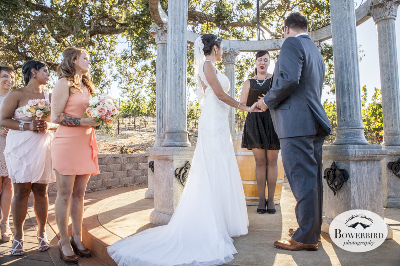 A beautiful day to get married! Meritage wedding.  © Bowerbird Photography 2014
