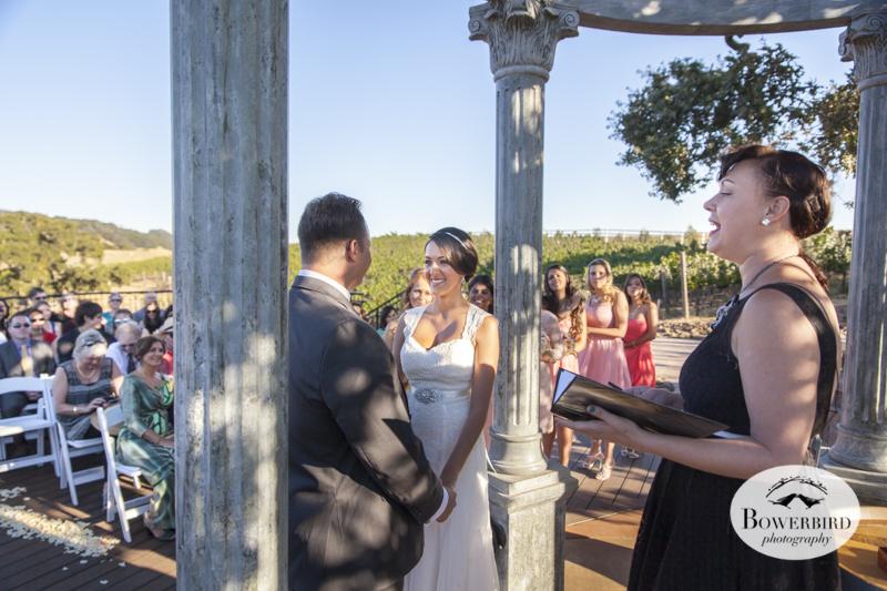 Meritage wedding ceremony.© Bowerbird Photography 2014
