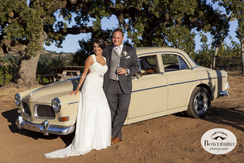 Enjoying a little pit stop after the wedding ceremony. Meritage Resort and Spa wedding.© Bowerbird Photography 2014