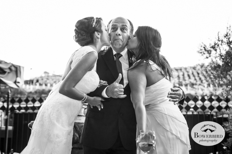 Meritage resort and spa wedding, cocktail hour.© Bowerbird Photography 2014