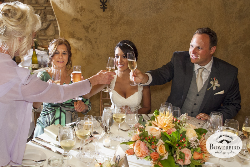 Meritage Resort and Spa wedding reception in the tasting room. © Bowerbird Photography 2014