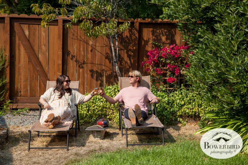 Lifestyle Engagement Photo Session in San Rafael. © Bowerbird Photography 2014