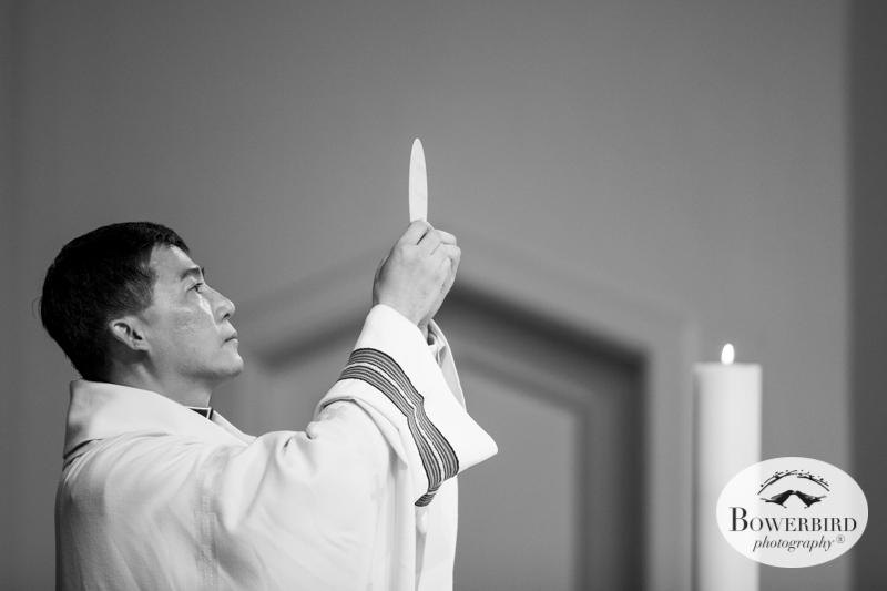 San Francisco Wedding Photography at St. Vincent de Paul Church.© Bowerbird Photography 2014