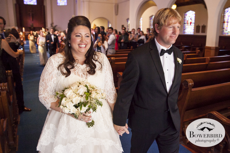 San Francisco Wedding Photography at St. Vincent de Paul Church.   © Bowerbird Photography 2014
