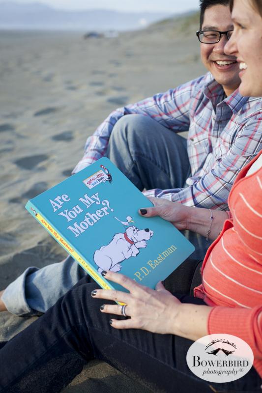 San Francisco Baby Bump Photo Session on Ocean Beach.© Bowerbird Photography 2014