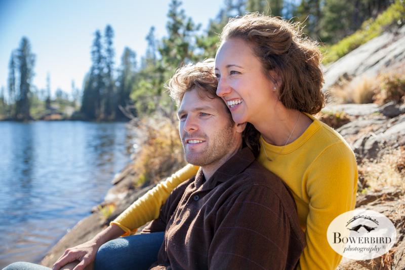 Lake Tahoe Engagement Photo Session. © Bowerbird Photography 2014