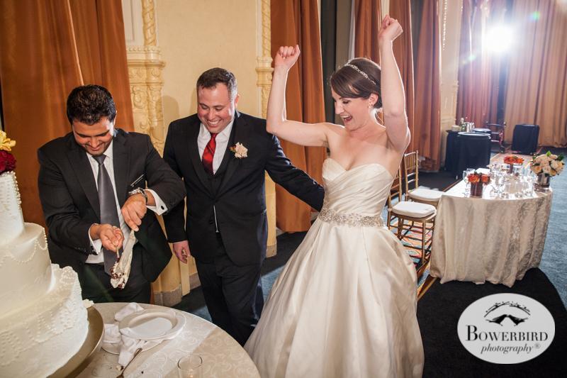 Wedding Photography at the InterContinental Mark Hopkins San Francisco. © Bowerbird Photography 2014
