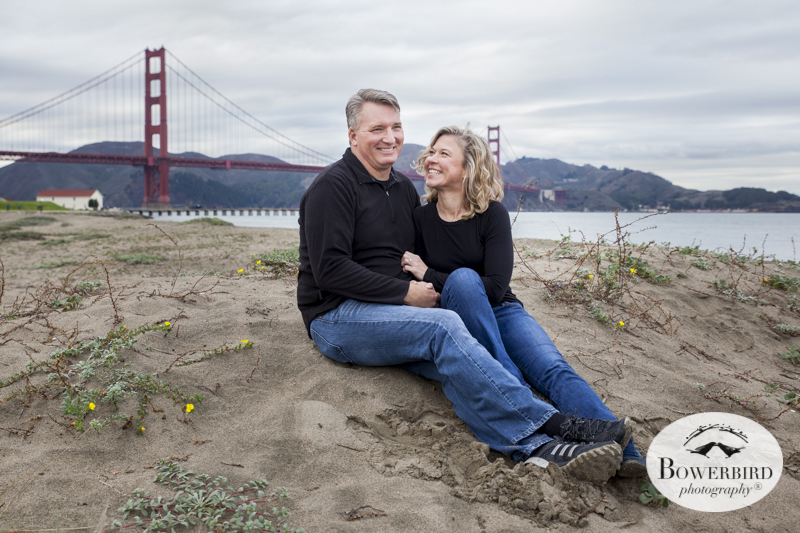 San Francisco Engagement Photo Session at Crissy Field. © Bowerbird Photography 2014