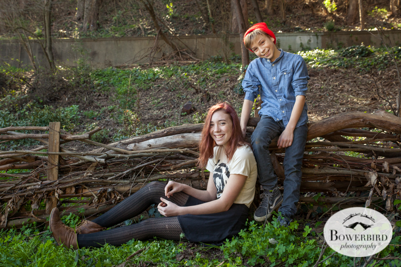 San Francisco Family Photo Session in Glen Canyon Park.  © Bowerbird Photography 2014