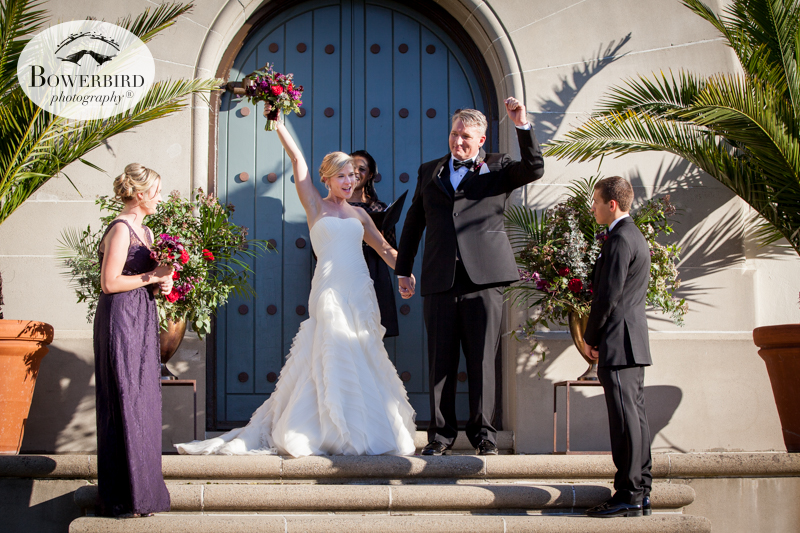 San Francisco Wedding Photography at the SF Film Centre. © Bowerbird Photography 2015