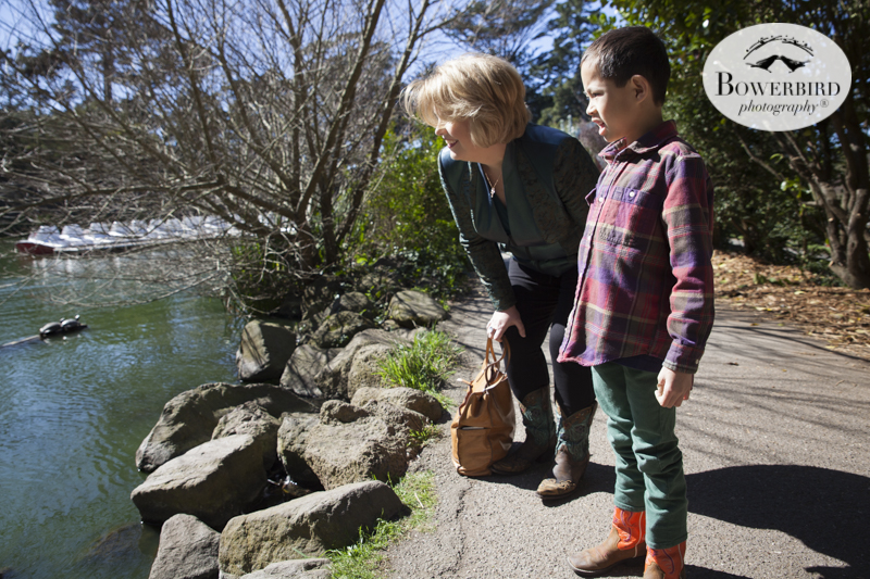 San Francisco Family Photos Session at Stow Lake in Golden Gate Park. © Bowerbird Photography 2015