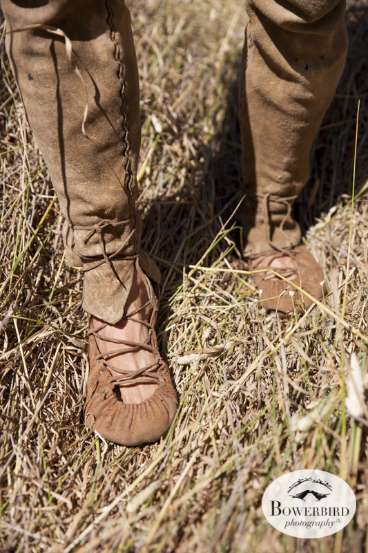 Wilderness skills expert Matt Forkin in the Marin Headlands. © Bowerbird Photography 2015