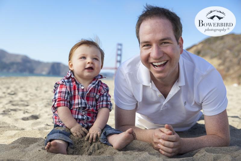 San Francisco Family Photo Session at Baker Beach. © Bowerbird Photography 2015
