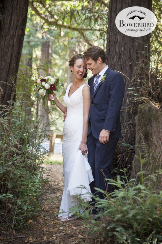 Old Mill Park Wedding Photo in Mill Valley. © Bowerbird Photography 2015