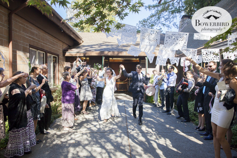Outdoor Art Club Wedding in Mill Valley. © Bowerbird Photography 2015