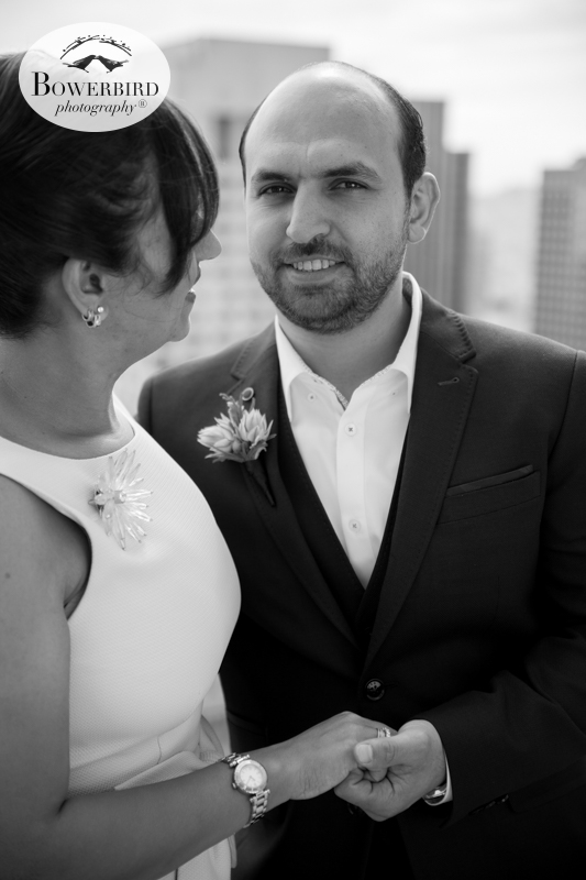 San Francisco Wedding Photography at Loews Regency Hotel. © Bowerbird Photography 2015