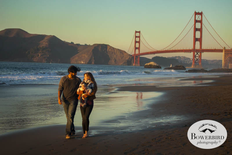 San Francisco Family Photo Session at Baker Beach. © Bowerbird Photography 2015
