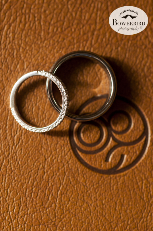 Wedding bands Cavallo Point. © Bowerbird Photography 2015