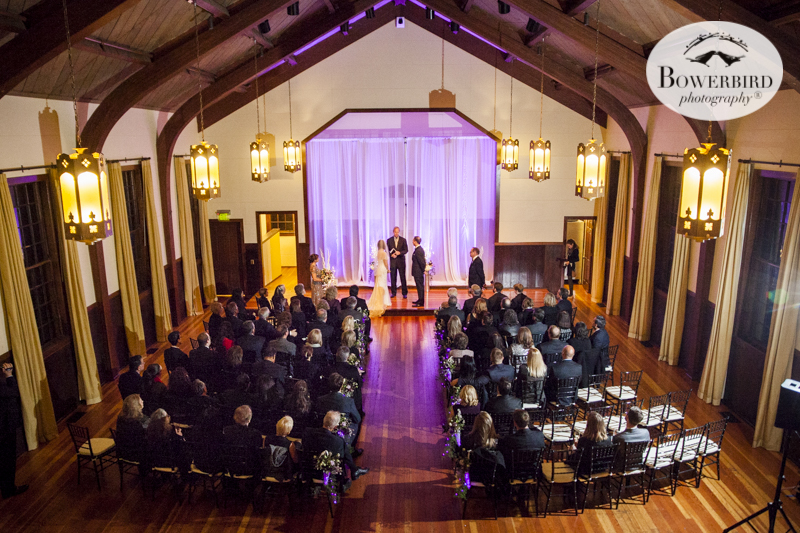 Wedding ceremony venue at church at Cavallo Point Lodge in Sausalito. © Bowerbird Photography 2015