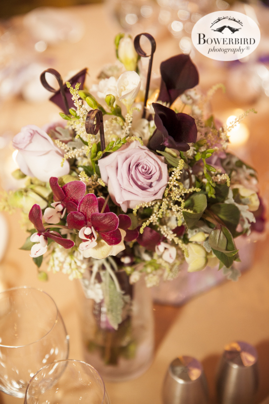 Her lovely bouquet now in a vase.© Bowerbird Photography 2015