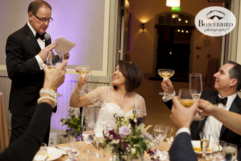 Cheers to that. Reception at Cavallo Point.© Bowerbird Photography 2015