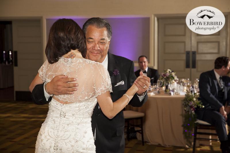 Father daughter dance.Cavallo Wedding Reception.© Bowerbird Photography 2015