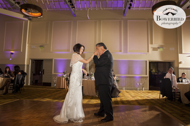 Father daughter dance at Cavallo.  © Bowerbird Photography 2015