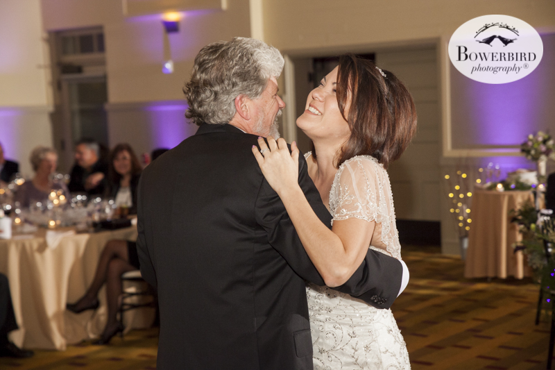 Great smiles during the dancing. Wedding reception at Cavallo near SF. © Bowerbird Photography 2015