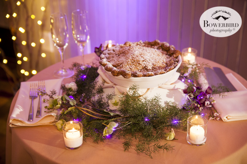 Wedding Pie! Cavallo Point Lodge near San Francisco. © Bowerbird Photography 2015