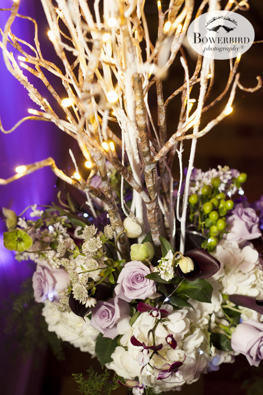 Beautiful wedding details at the reception at Cavallo Point Lodge © Bowerbird Photography 2015
