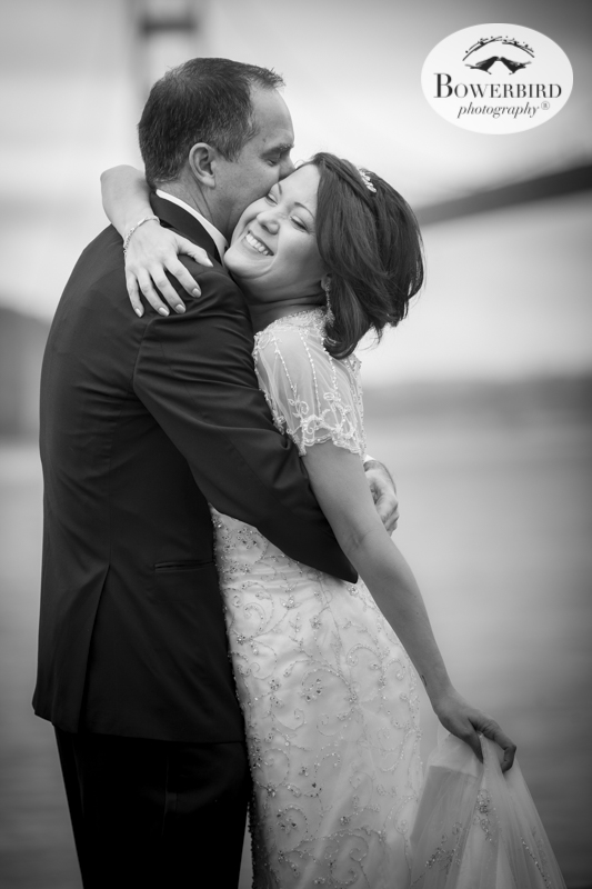Love this timeless photo, capturing timeless love.Wedding Photography at Cavallo Point Lodge in Sausalito. © Bowerbird Photography 2015