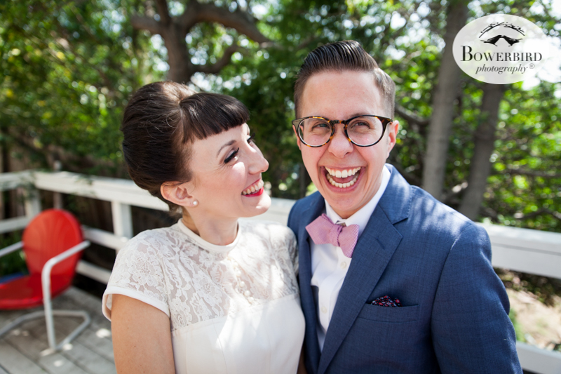 Los Angeles Destination Wedding Photography. The bride and groom -- so happy together! © Bowerbird Photography 2016