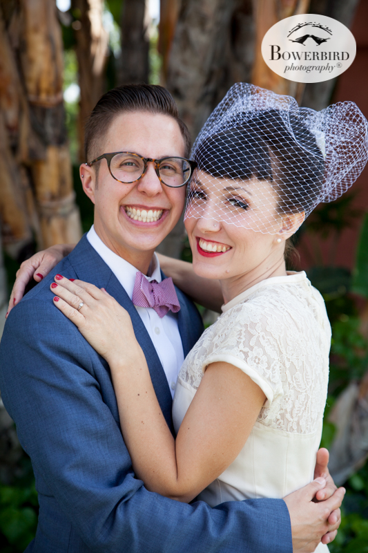 Los Angeles Destination Wedding Photography. Portrait session with the bride and groom around LA. © Bowerbird Photography 2016