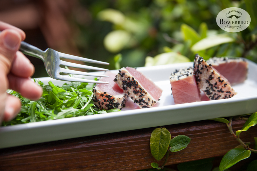 San Francisco Food Photographer. Seared tuna. © Bowerbird Photography 2016