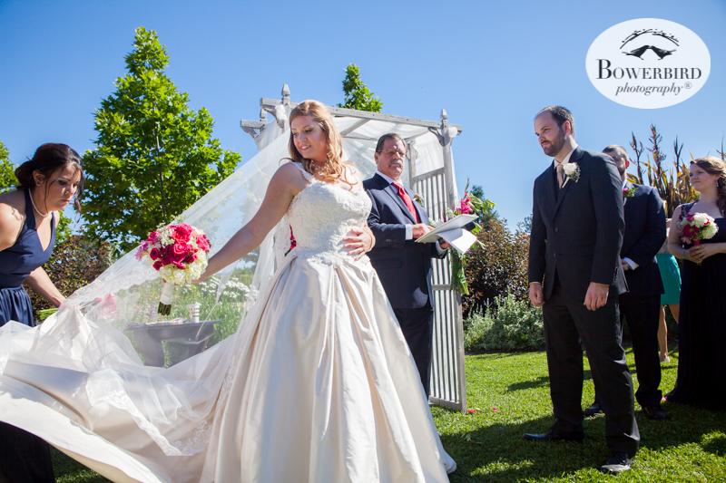 DeLoach Vineyards wedding ceremony. Sonoma Wedding Photographer. © Bowerbird Photography 2016