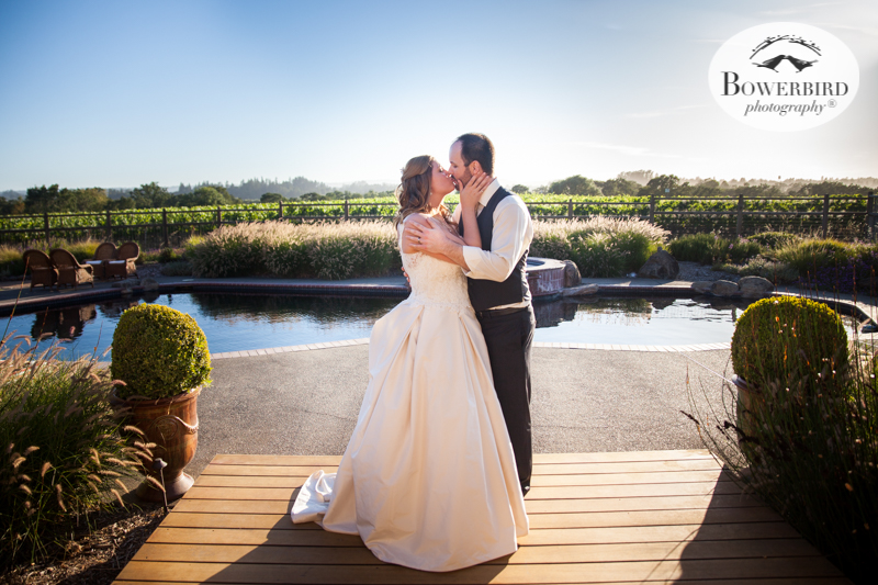 Ummm. Yass!!! These two are meant for each other! DeLoach Vineyards. Sonoma Wedding Photographer. © Bowerbird Photography 2016