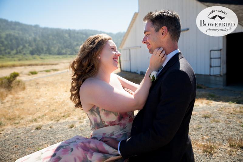 Pt. Reyes Dance Palace Wedding Photographers. © Bowerbird Photography 2016