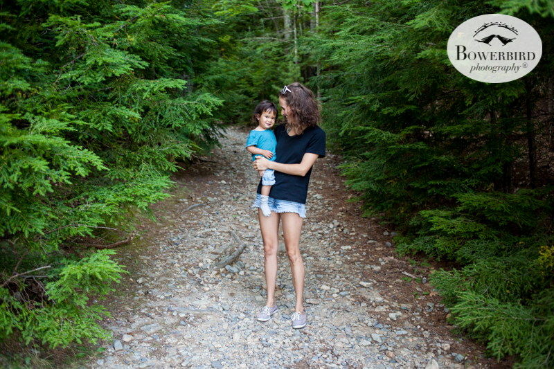 Traveling with baby in Acadia National Park, Mt. Desert Island, Bar Harbor, Maine. © Bowerbird Photography 2016