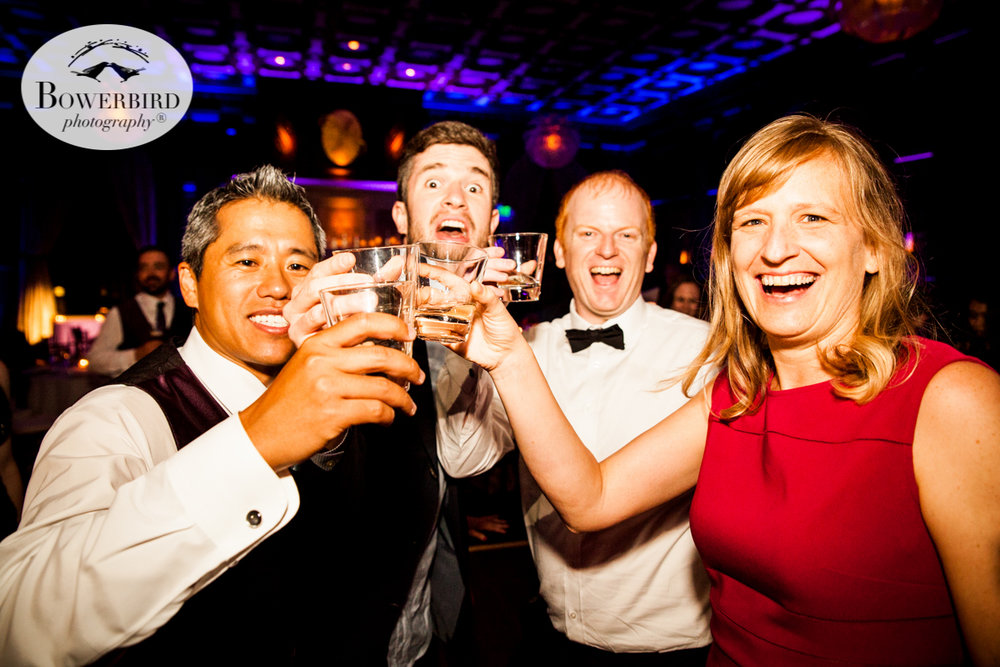 Everyone wants to get a chance to drink to the couple!  © Bowerbird Photography 2016