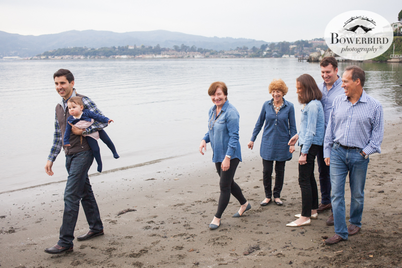 Holiday Family Photo Session in Tiburon, Marin County