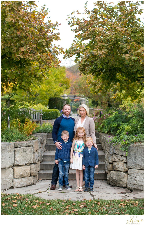 Let It Shine PhotographyBLOG Fall Family Of 5 // Botanical Gardens Boise  Idaho // The Morrisu0027s