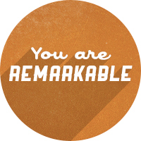 You Are Remarkable was created to help people love themselves, believe in themselves and make others believe in them too. Brought to you by Kelly Cashman and listeners like you!