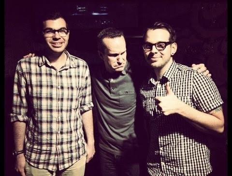 Bonus photo of Zac Wolf and I with Jimmy Pardo in NYC