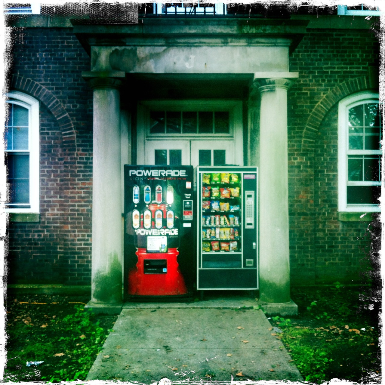"‎""I guess this is as good of a place, as any, to put the vending machines.."""