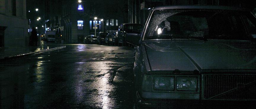 Wet Volvo.